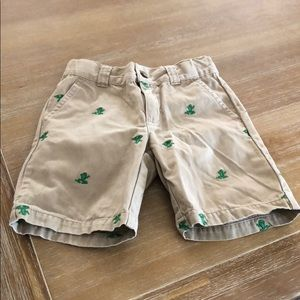 Gymboree boys size 3 adjustable waist shorts
